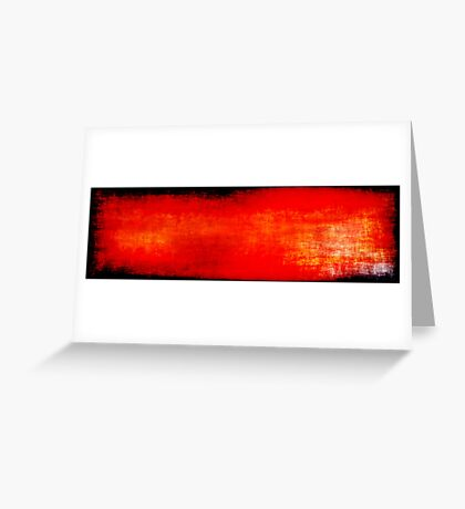 Tones of Red Greeting Card