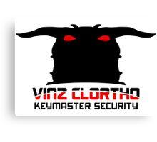 Clortho Security Canvas Print