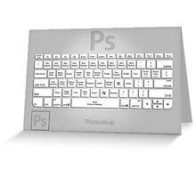 Photoshop Keyboard Shortcuts Metal Tool Names Greeting Card