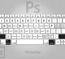 Photoshop Keyboard Shortcuts Metal Opt+Shift by Skwisgaar