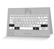 Photoshop Keyboard Shortcuts Metal Opt+Shift+Cmd Greeting Card