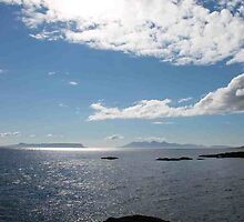 Eigg and Rhum from Mallaig by Pat Millar