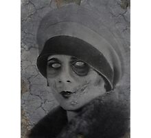 Zombie Ruth Photographic Print