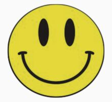 Smiley Face Tshirt by Squeezietees