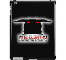 Clortho Security iPad Case/Skin