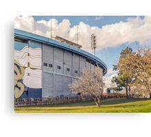Centenario Stadium Facade, Montevideo - Uruguay Canvas Print