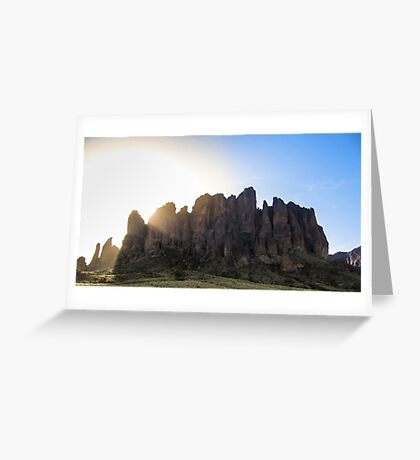 Superstitious Rays  Greeting Card