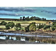 Alnmouth Riverside Photographic Print