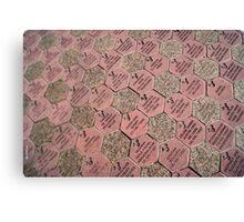 Paver Stones Canvas Print