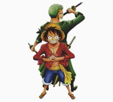 One Piece - Luffy & Zoro by irig0ld