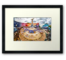 Aladdin Ride Framed Print