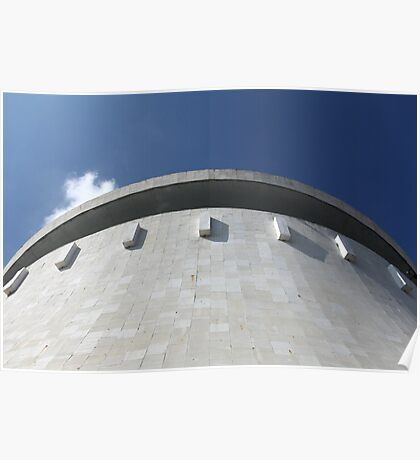 Wall  Cooling tower power plant Poster