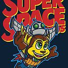 Super Space Bros by Punksthetic