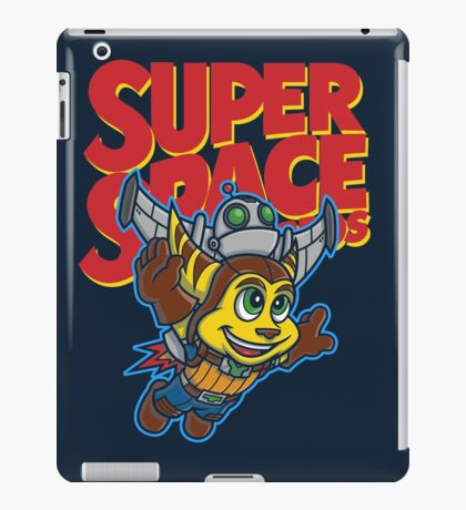 Super Space Bros iPad Case/Skin