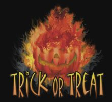 Trick or Treat (pumpkin) by magiktees