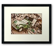 Film Set Framed Print