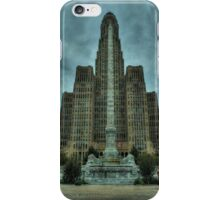 Dreary ole Buffalo iPhone Case/Skin
