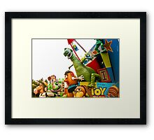 Toy Story Characters Framed Print