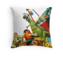 Toy Story Characters Throw Pillow