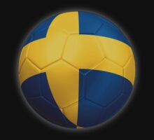 Sweden - Swedish Flag - Football or Soccer 2 by graphix