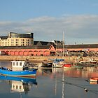 Newhaven Harbour by Pat Millar