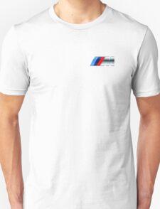 bmw m logo small upper left side T-Shirt