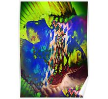 4549 Psychedelic Fish Poster