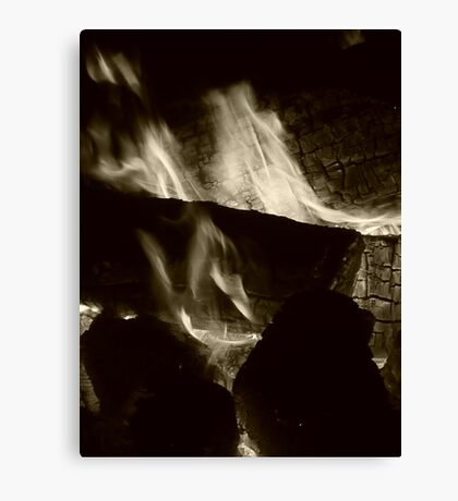 Flammable Canvas Print