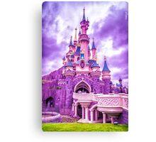 Sleeping Beauty Castle Canvas Print