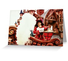 Captain Hook Greeting Card