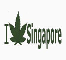 0063 I Love Singapore by Ganjastan