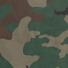Camo Fabric (iPhone Case) by William Brennan