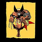 Wolverine: Old Sketch Reborn 1 (iPad Case) by William Brennan