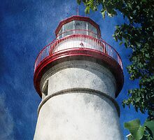 Marblehead Lighthouse 2 by MSRowe Art and Design