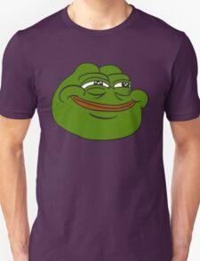 Happy Pepe the Frog Unisex T-Shirt