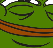 Happy Pepe the Frog Sticker