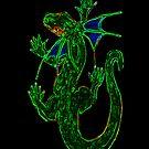 Neon Salamandar by Mergekat