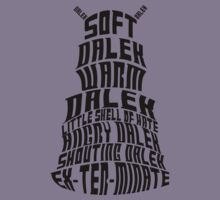 Soft Dalek, Warm Dalek Kids Clothes