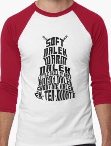 Soft Dalek, Warm Dalek Men's Baseball ¾ T-Shirt
