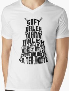 Soft Dalek, Warm Dalek Mens V-Neck T-Shirt