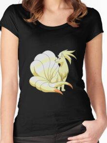nine tales design Women's Fitted Scoop T-Shirt