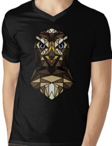 <Acquire the hawk> Mens V-Neck T-Shirt