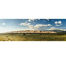 Great Sand Dunes Panorama - Great Sand Dunes National Park, Colorado Photographic Print