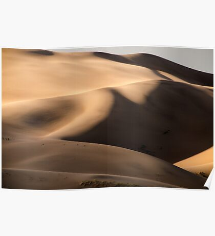 Dune - Great Sand Dunes National Park, Colorado Poster