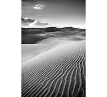 Sand Pattern - Great Sand Dunes National Park, Colorado Photographic Print