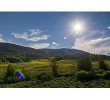 Sunny Days Photographic Print