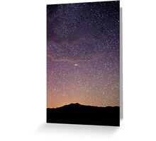 Andromeda - Great Sand Dunes National Park, Colorado Greeting Card