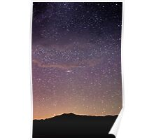 Andromeda - Great Sand Dunes National Park, Colorado Poster