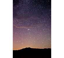 Andromeda - Great Sand Dunes National Park, Colorado Photographic Print