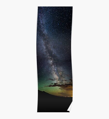 The Milky Way Rises - Great Sand Dunes National Park, Colorado Poster